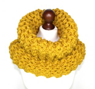 Mustard Outlander Style Cowl
